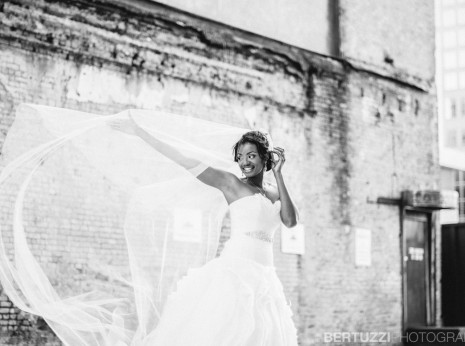 Downtown Houston Bridal Portraits