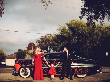 vintage inspired family portraits
